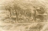 《流水刻刀绘沙林》组照
