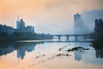 义水河清晨