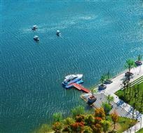 荡漾南山湖