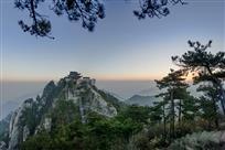 九华山的早晨