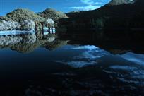 芦林湖晨韵