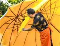 制作油布伞