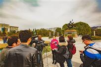 集安旅游局接受媒体采访