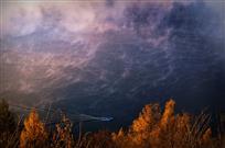 烟波浩渺白山湖