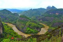 雨后武夷山