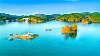 《秋水湖色》