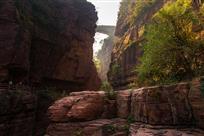 云台山峡谷