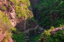 《云台红峡》