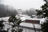 雪扮会龙庄