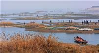 秋色石臼湖
