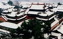 《雪落讲寺》