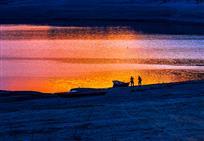 松花湖傍晚