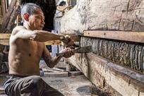 老油坊木榨工