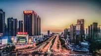 禹州中心广场夜色