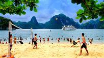 沙滩排球赛