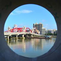 眼中的潭江桥