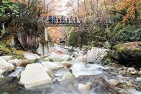 组照:十八月潭的廊桥之五