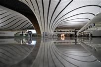 北京大兴国际机场夜景