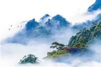 雾漫三清山