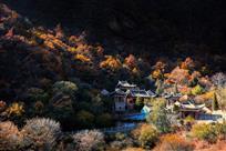 崆峒山秋景