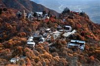 秋色崆峒山