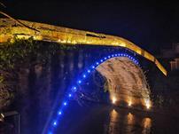 《雨夜永福桥》