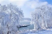 松花湖冬季风光